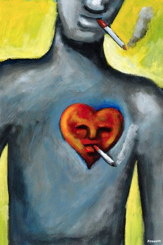 smoking and heart disease Smoking is the single largest preventable cause of heart disease in the united states tobacco smoke contains high levels of carbon monoxide carbon monoxide affects the heart by reducing the amount of oxygen the blood is able to carry.