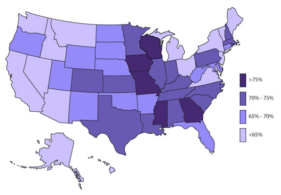 Is Medication The Answer To Americas ADHD Epidemic SBFPHC - Map prescriptions for adhd us