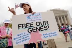 "Image taken from Huffington Post article ""Defending Genomic Liberty."" http://www.huffingtonpost.com/christopher-e-mason/gene-patent-myriad_b_3273744.html"