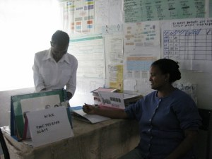 Health Center in Tigray, Ethiopia (taken by Anne Batchelder)