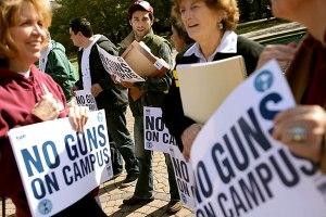 No guns on campus
